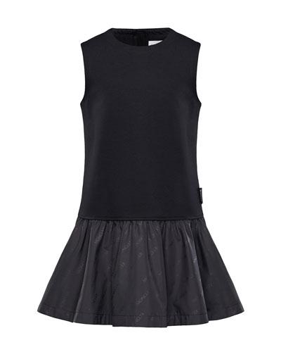 Fit-&-Flare Logo Dress  Size 4-6
