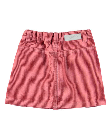 Molo Girl's Bera Button Front Corduroy Skirt, Size 3T-16