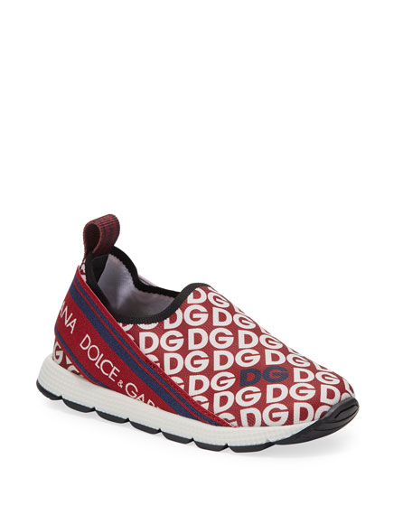 Dolce & Gabbana Sorrento Logo-Mania Sneakers, Toddler/Kids