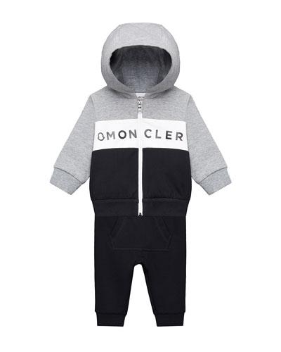 Zip-Up Hoodie w/ Matching Sweatpants  Size 12M-3