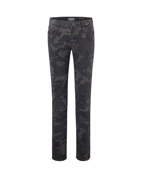 DL1961 Premium Denim Boy's Zane Camo Super Skinny Denim Jeans, Size 8-16