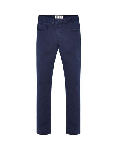 Boy's Brady Slim Straight Let Denim Jeans  Size 2-7