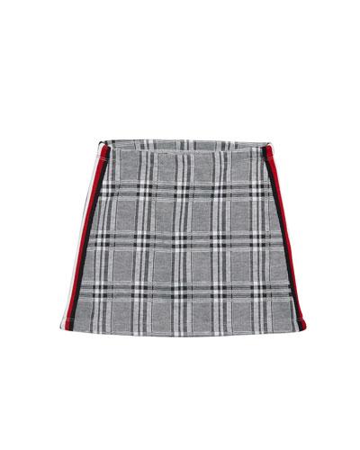 Girl's Plaid A-Line Mini Skirt  Size S-XL