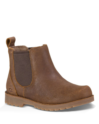 Callum Leather Chelsea Boots  Kids
