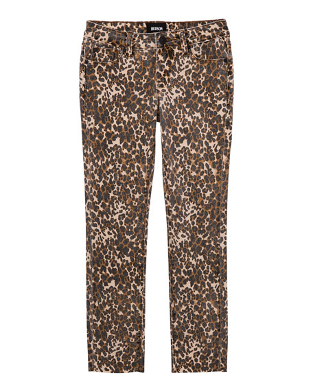 Hudson Girls' Jungle Skinny Crop Jeans, Size 7-16