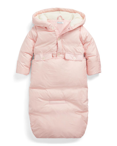 Ralph Lauren Childrenswear Boy's Taffeta Outwear Bunting, Size 3-9 Months
