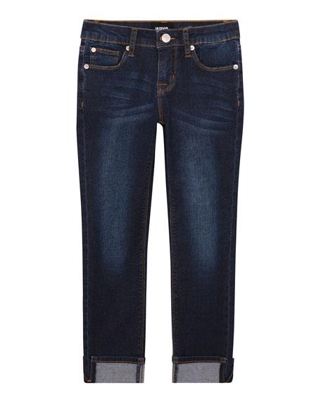 Hudson Girls' Teagan Ankle Crop Jeans, Size 7-16