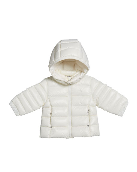 Ralph Lauren Childrenswear Girl's Dull Momentum Down Quilted Jacket, Size 6-24 Months