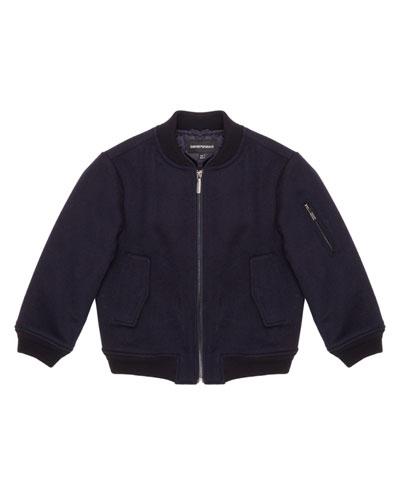 Boy's Bomber Jacket  Size 6-16