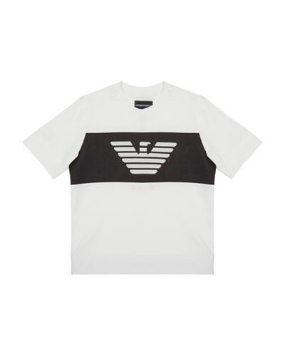 Boy's Eagle Graphic Tee  Size 4-16