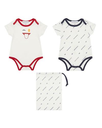 Boy's Bodysuit Gift Set, Size 6-36 Months