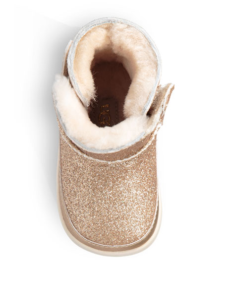 UGG Keelan Glitter Booties, Baby/Kids