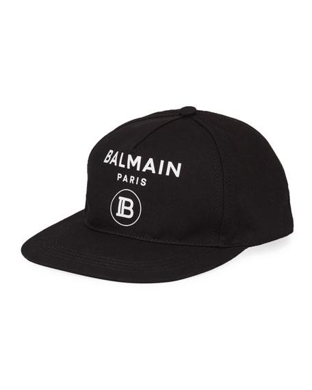 Balmain Boy's Logo Baseball Hat