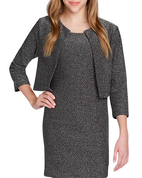 Sally Miller Girl's The Going Out Lurex Jacket, Size S-XL