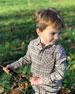 Me & Henry Boy's Woven Plaid Long-Sleeve Shirt w/ Children's Book, Size 2T-10