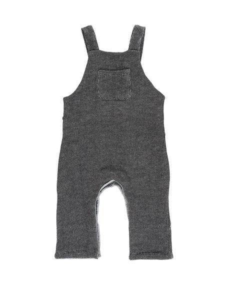 Me & Henry Boy's Sweater Overalls w/ Children's Book, Size 6-24 Months