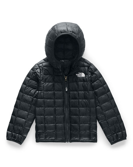 The North Face Boy's Quilted ThermoBall Hooded Jacket, Size 2-4T