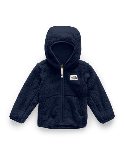 Boy's Campshire Hooded Sherpa Fleece Jacket, Size 2-4T