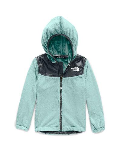 Girl's Oso Fleece Hooded Jacket, Size 2-4T