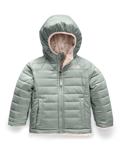Reversible Mossbud Swirl Jacket, Size 2-4T