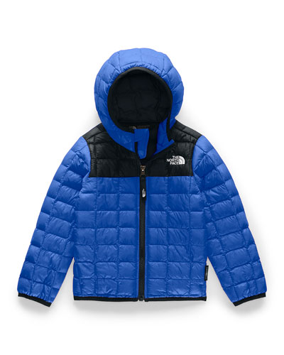 Boy's Quilted ThermoBall Hooded Jacket, Size 2-4T
