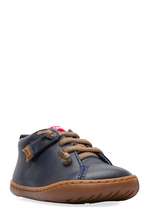 Camper Lace-Up Leather Boots, Baby/Toddler