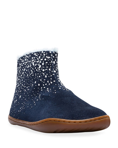 Suede Boots w/ Faux Fur Lining  Toddler/Kids