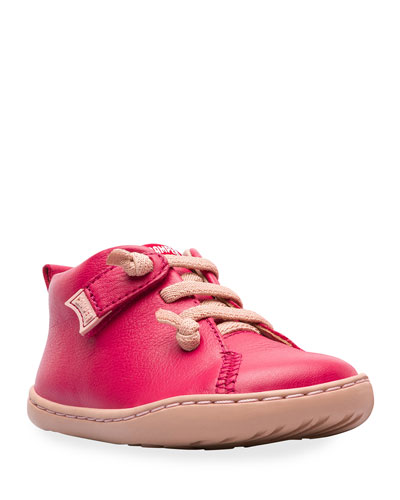 Lace-Up Leather Boots  Baby/Toddler