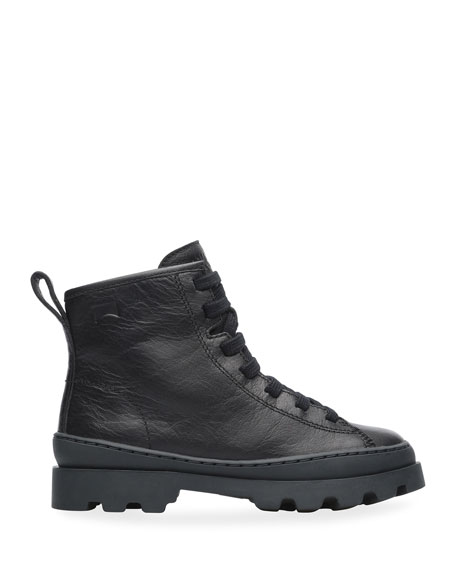 Camper High-Top Leather Boots, Toddler/Kids