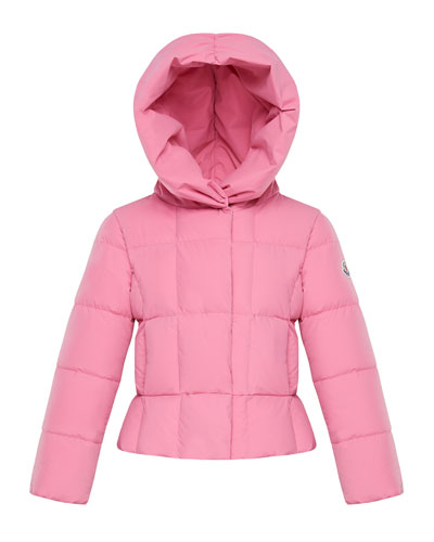 Girl's Giroflee Stretch Tech Hooded Jacket, Size 4-6