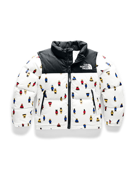 The North Face Boy's 1996 Retro Nuptse Down Jacket, Size 2-4T