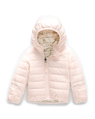 Perrito Reversible Hooded Taffeta Jacket  Size 6-24 Months