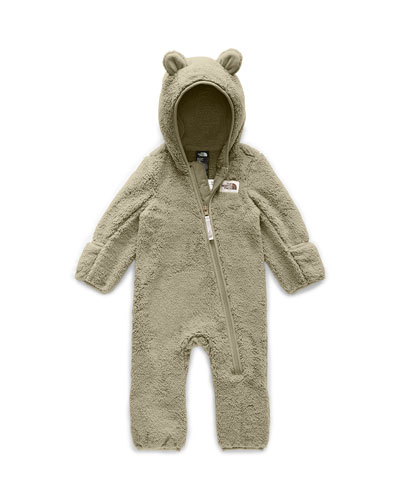 Kid's Campshire Sherpa Fleece Hooded Coverall  Size 6-24 Months