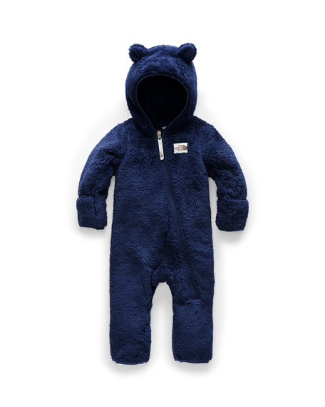 The North Face Kid's Campshire Sherpa Fleece Hooded Coverall, Size 6-24 Months