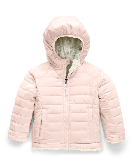 The North Face Girl's Reversible Mossbud Swirl Jacket, Size 2-4T