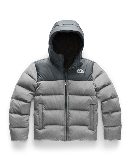 The North Face Boy's Moondoggy 2.0 Down Hooded Jacket, Size XXS-XL