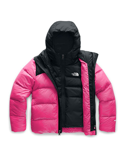 Girl's Double Down Triclimate Jacket  Size XXS-XL