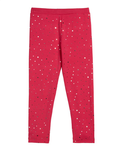 Girl's Sequin Leggings  Size 2-6X