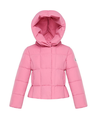 Girl's Giroflee Stretch Tech Hooded Jacket, Size 8-14