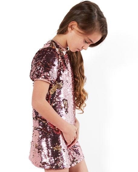 Bardot Junior Girl's Harriet Sequin Shift Dress, Size 7-16