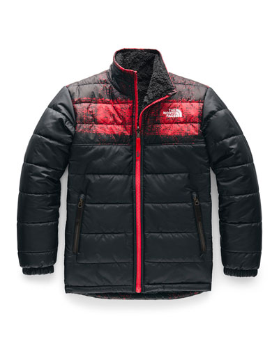 Boy's Mount Chimborazo Reversible Stand-Collar Jacket  Size XXS-XL