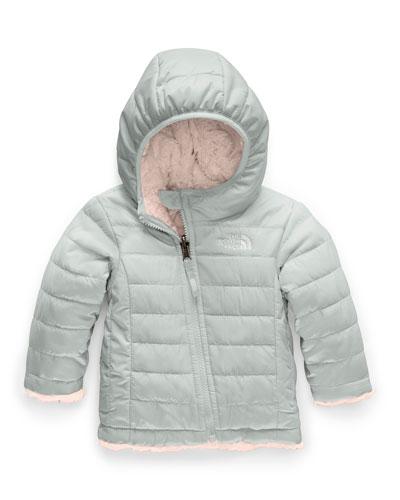 Girl's Reversible Mossbud Swirl Jacket  Size 6-24 Months