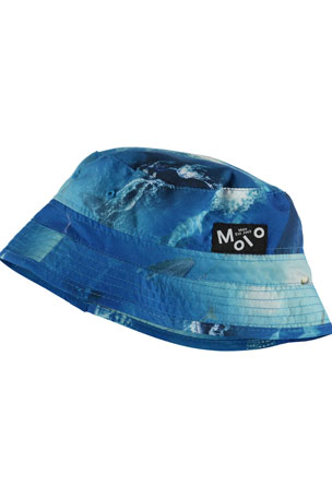 Molo Boy's Niks Sea Print Bucket Hat