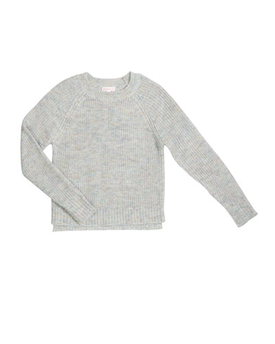Girl's Multicolored Knit Sweater  Size S-XL