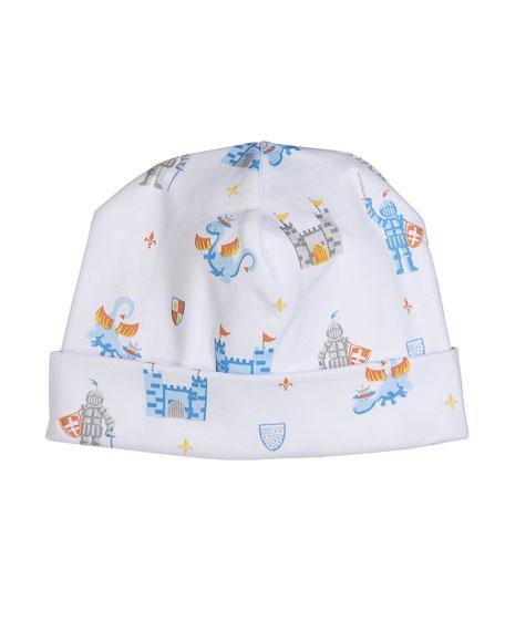 Kissy Kissy Dragon Castle Printed Baby Hat