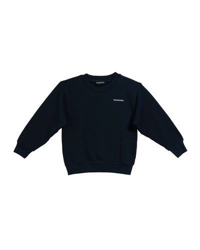 Kid's Logo Sweatshirt  Size 4-10