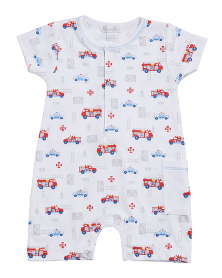 Kissy Kissy Rescue Team Pima Shortall, Size 3-24 Months