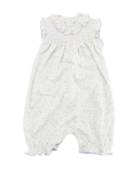 Kissy Kissy Spring Whispers Sleeveless Playsuit, Size 3-24 Months