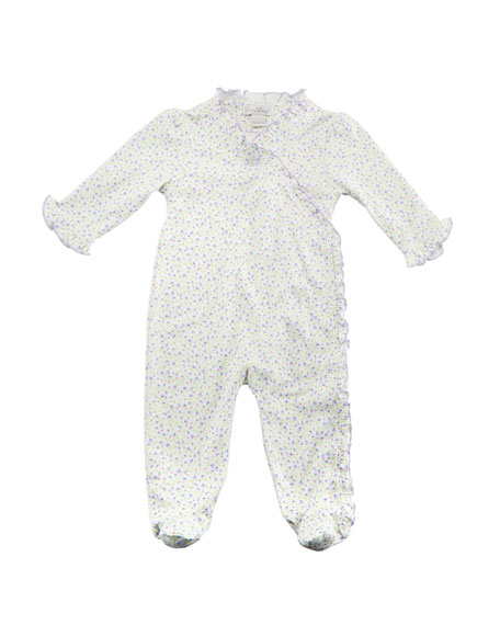 Kissy Kissy Spring Whispers Ruffle Footie Playsuit, Size Newborn-9 Months