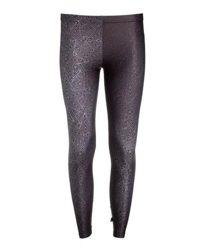 Girl's Metallic Superstar Leggings  Size 7-16